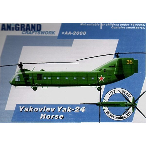 Yakovlev Yak-24 Horse. In 1965 the US Army launched the Utility Tactical Transport Aircraft System (UTTAS) program. The initial