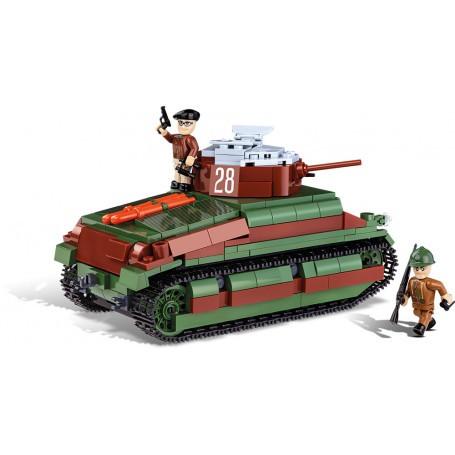 Blocs de construction construction jouet petite armée de chars m24 Chaffee Cubes