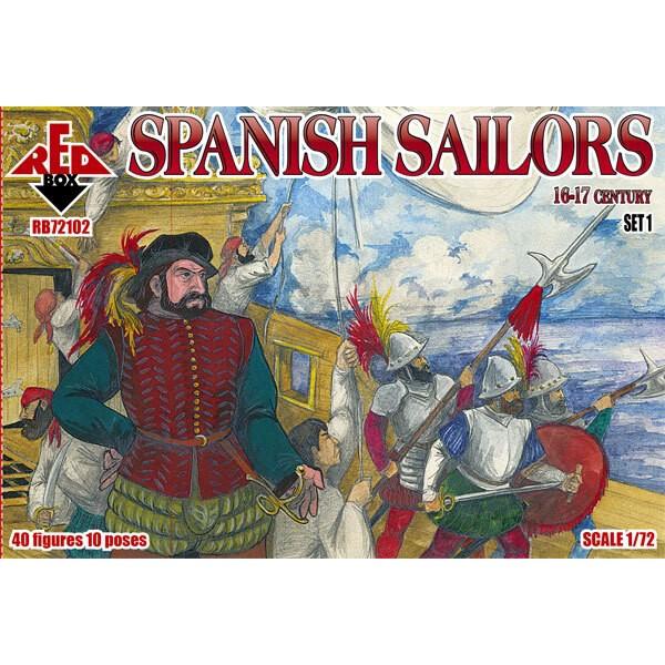 Les marins espagnols 16-17 siècle