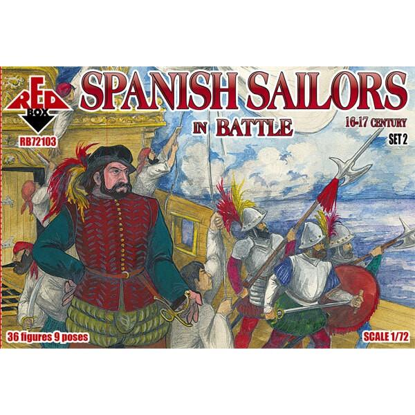 Marins espagnols à Battle 16-17 siècle