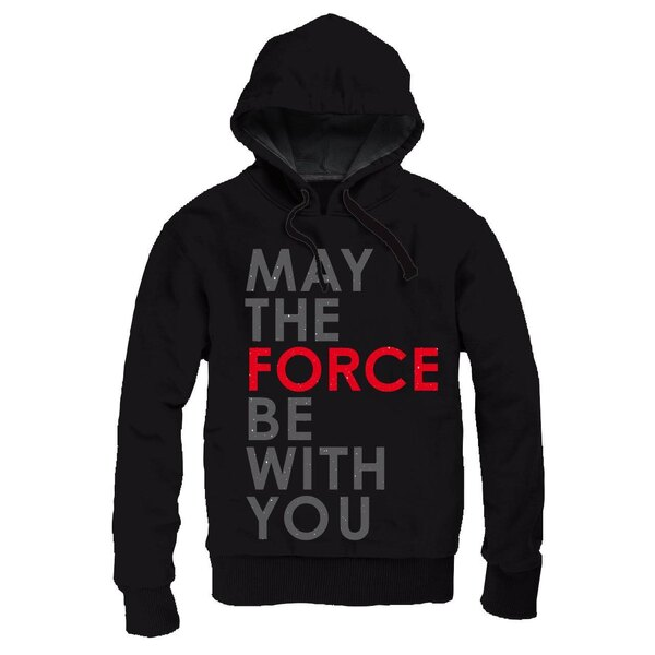 Star Wars Episode VIII Sweater à capuche zippé May The Force Be With You