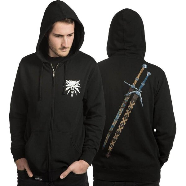The Witcher sweater à capuche Steel N Silver