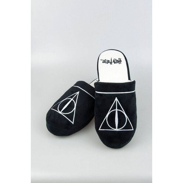 Harry Potter chaussons Deathly Hallows