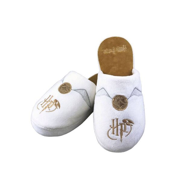 Harry Potter chaussons Golden Snitch