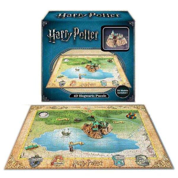 Puzzle 3d Harry Potter puzzle 4D Mini Hogwarts