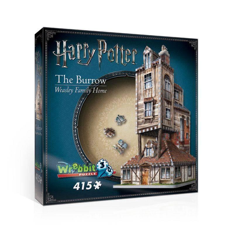 Puzzle 3d - Puzzle 3d Harry Potter Puzzle 3D The Burrow (Weasley Famil