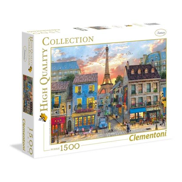Puzzle Les rues de Paris