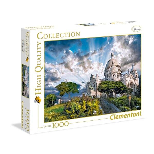 Puzzle Montmartre - Le sacré coeur