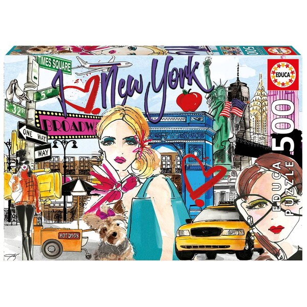 Puzzle Emmene-moi a New York