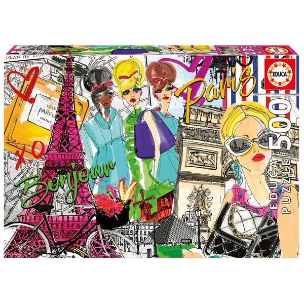Puzzle Emmene-moi a Paris