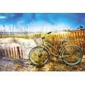 Puzzle Bicyclette dans les dunes