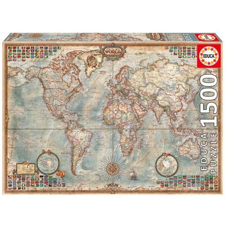 Puzzle Puzzle du monde, carte politique