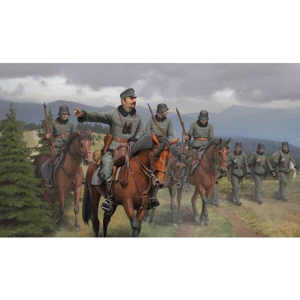 Honved austro-hongrois de cavalerie Première Guerre mondiale (ce qui est un ancien numéro de stock, mais il n'a pas été utilisé