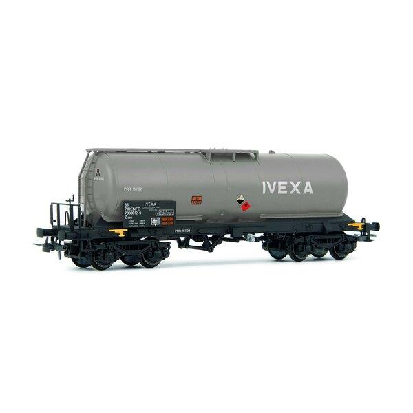"""RENFE, wagon-citerne à 4 essieux, gris """"CAMPSA"""""""