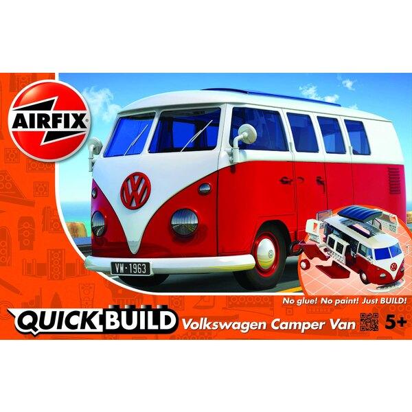 QUICKBUILD VW Camper Van - Rouge