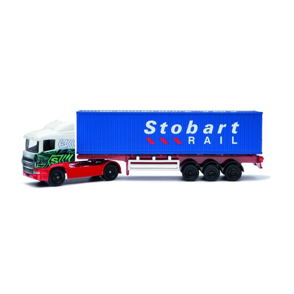 Eddie Stobart Camion à conteneur squelettique