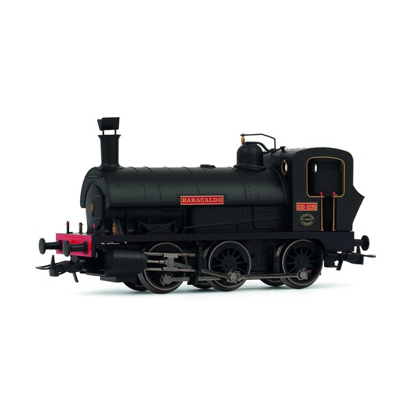 """Locomotive à vapeur espagnole 030 """"Baracaldos"""" en livrée neuve"""