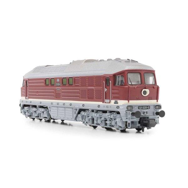 Locomotive diesel classe 131 de la DR, rouge, Ep.IV