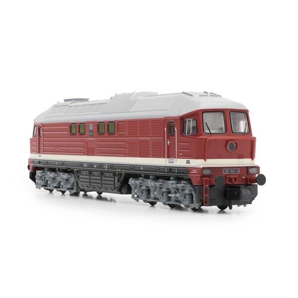 Locomotive diesel classe 130 de la DR, rouge, Ep.IV