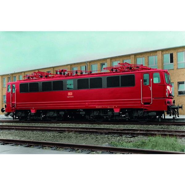 Locomotive électrique classe 142 de DB AG, Ep.V, orient rouge