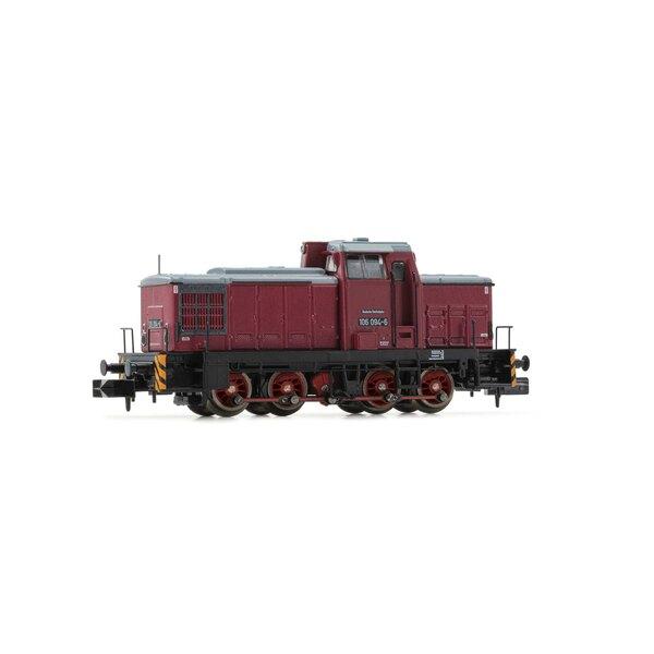 Locomotive de manœuvre diesel, classe V60D, DR, Ep IV