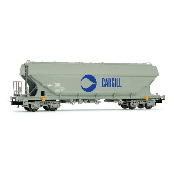 Wagon céréalier Cargill à parois latérales planes SNCF époque IV