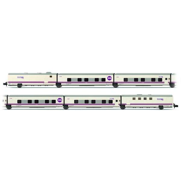6 piècesSet de voiture TALGO Bed & Breakfast de la RENFE, Ep.V