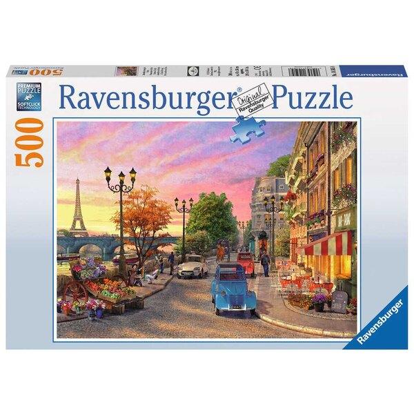 Puzzle Promenade à Paris