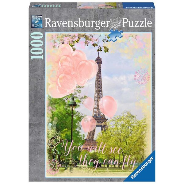 Puzzle Les ballons de la Tour Eiffel
