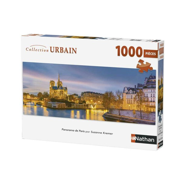 Puzzle Panorama de Paris