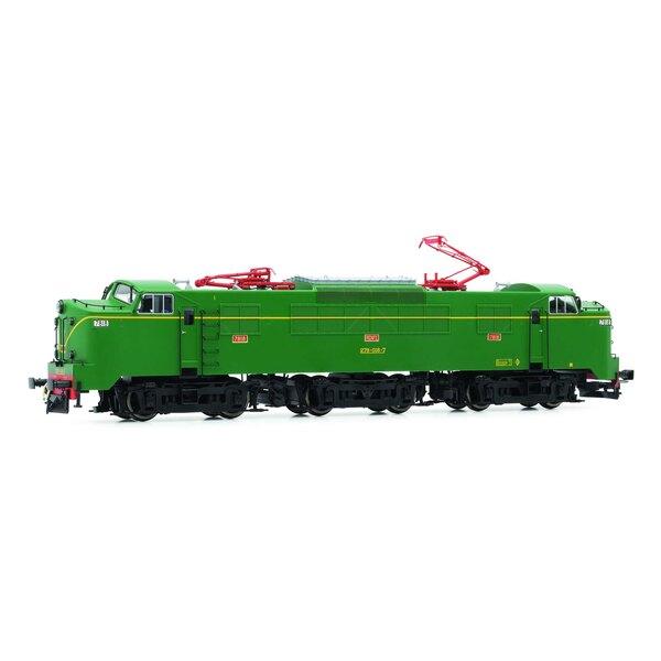 RENFE, locomotive électrique série 278 017-9, avec pantographes à un bras et décodeur sonore