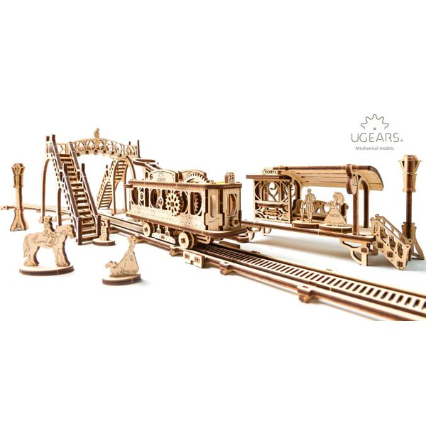 La ville mécaniques: ligne de tram