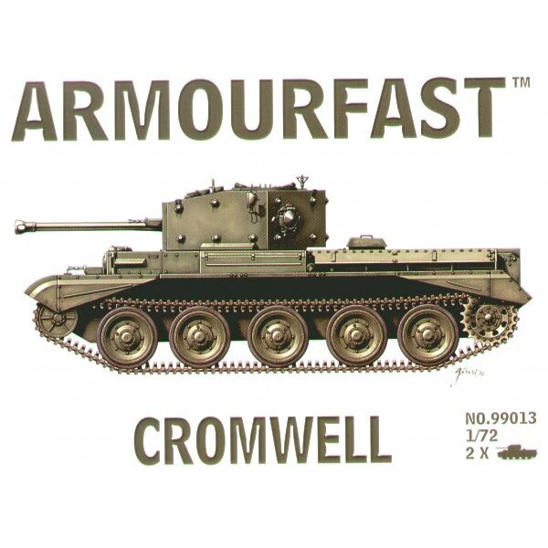 Cromwell tanks: the pack includes 2 snap together tank kits.