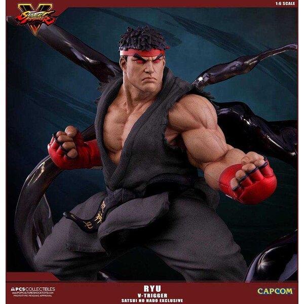 Street Fighter V statuette 1/6 Ryu V-Trigger Satsui no Hado Exclusive 32 cm