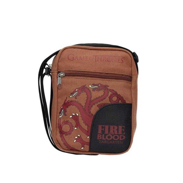 Le Trône de Fer sac à bandoulière mini Targaryen 17 x 23 cm
