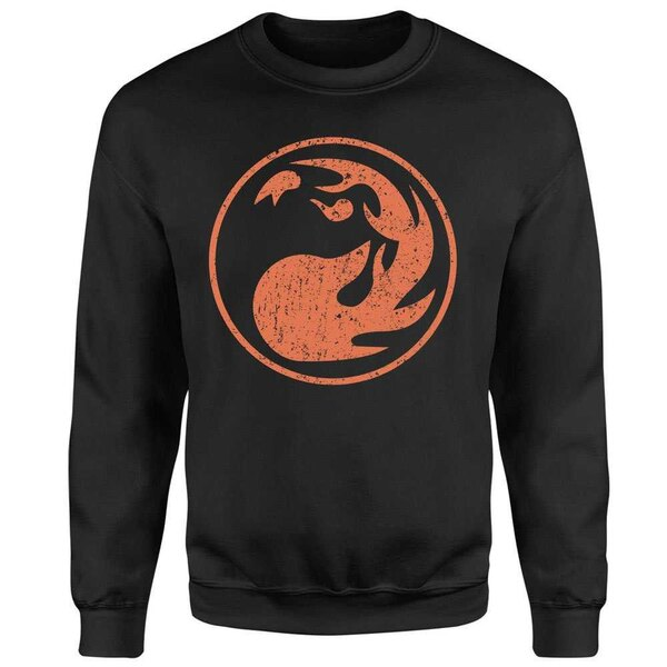 Magic the Gathering sweater Mana Red
