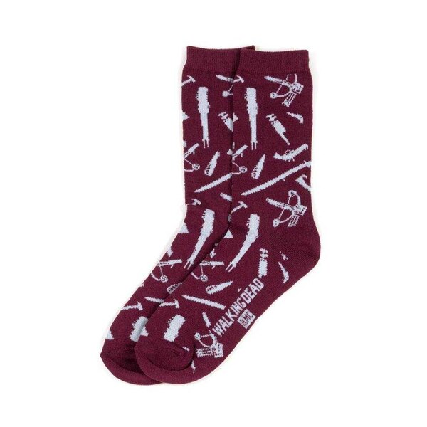 Walking Dead chaussettes taille 39-43 Weapons LC Exclusive (5)
