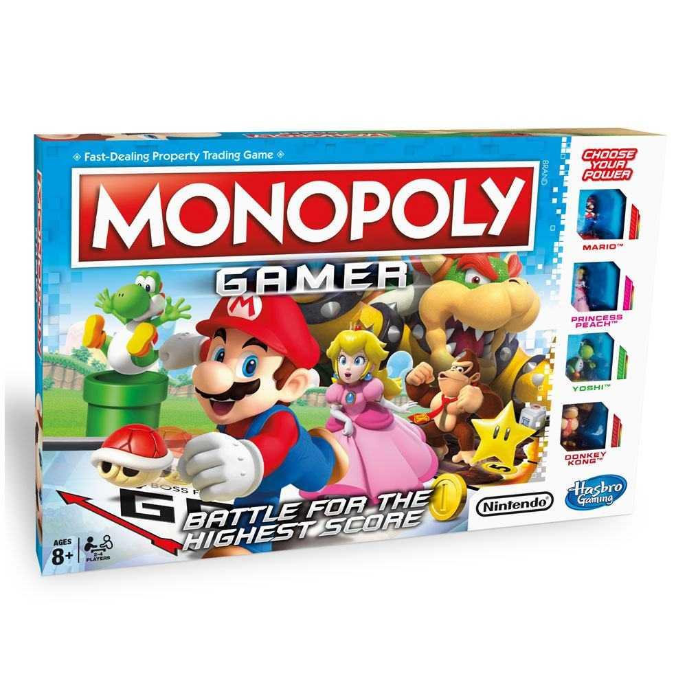 Jeux de plateau et accessoires - Nintendo jeu de plateau Monopoly Game