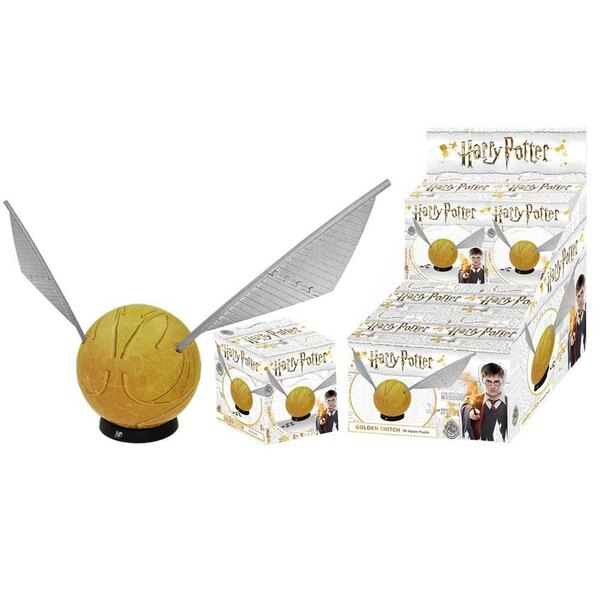 Puzzle Harry Potter puzzle 3D Golden Snitch (84 pièces)