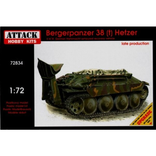 Bergerpanzer 38(t) HETZER - production tardive