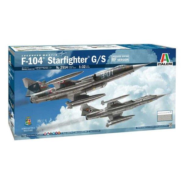 Lockheed F-104G Starfighter RF édition améliorée. FORCE ITALIENNE ORPHEUS RECON POD - COUVERTURE BULGUÉE POUR SYSTÈME DE PHOTOS