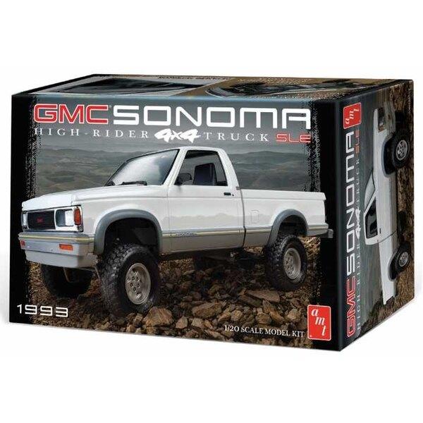 1993 GMC Sonoma 4x4 Si vous cherchez quelque chose de nouveau et de différent sur un modèle de camion, jetez un coup d'œil à ce