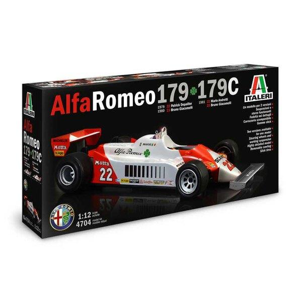 Alfa Romeo 179 F1.L'Alfa Romeo 179 est une voiture de course qui a été utilisée par la prestigieuse marque italienne Alfa Romeo