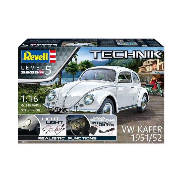 1951/52 VW (VW / Volkswagen) Série Beetle Technik Avec plus de 21 millions produits de 1938 à 2003, la VW Beetle originale est l