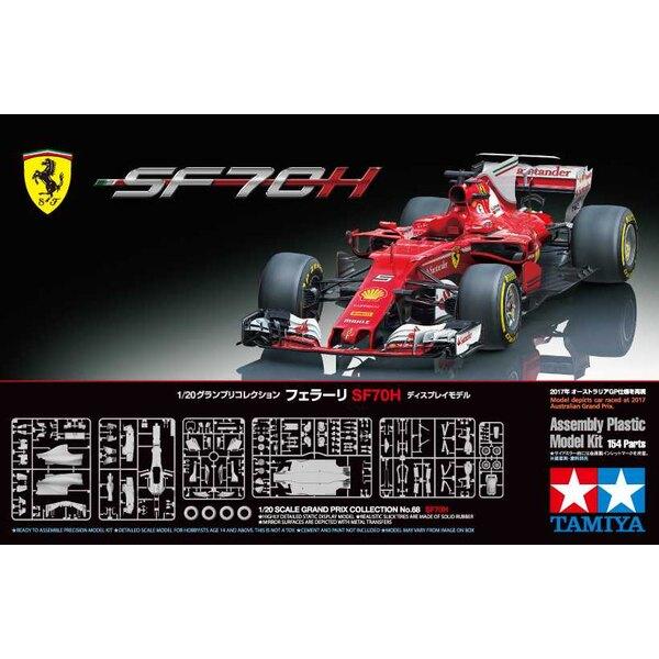 Ferrari SF70H F.1 La SF70H, la 63ème monoplace conçue et construite par Scuderia Ferrari, est née de changements majeurs de régl