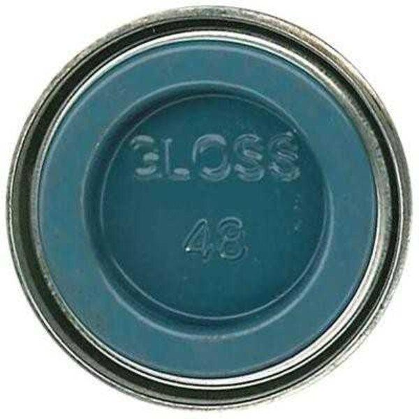 Peinture émail Humbrol 48 Bleu méditerranéen 14ml