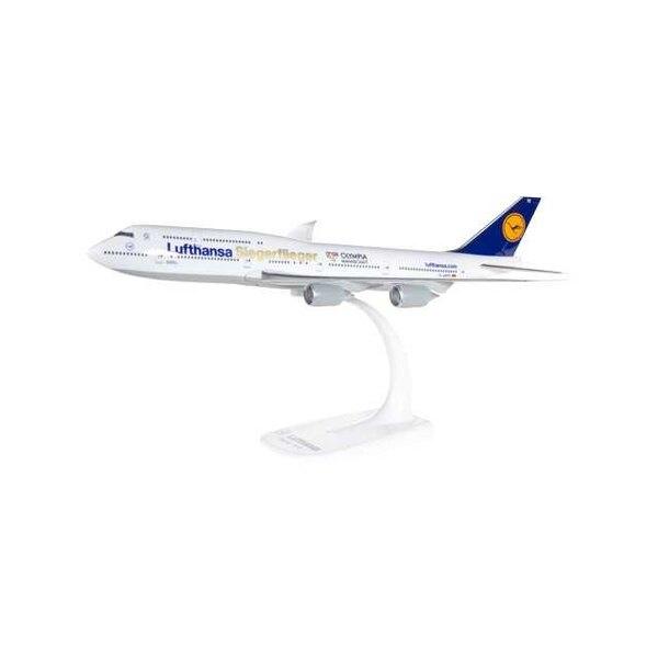 Lufthansa Boeing 747-8 Intercont.Siegerflieger Olympia Rio 2016