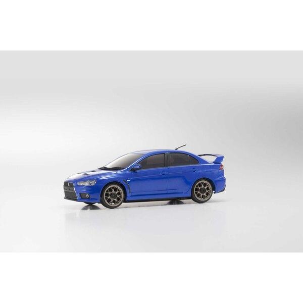 Autoscale mini-z mitsubishi lancer evo x bleue ma020