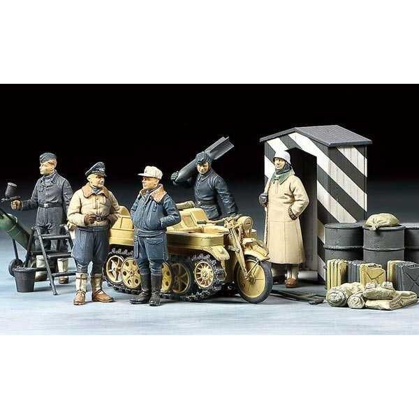 Personnel Luftwaffe + Kettenkrad