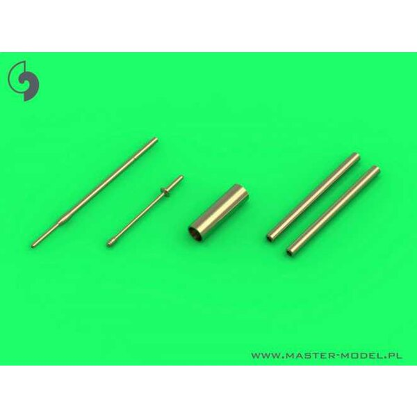Dornier Do-335A - detail set - MG 151, FuG 25a antenna, Pitot Tube (designed to be used with Dragon and Hobby Boss kits)[Do-335A